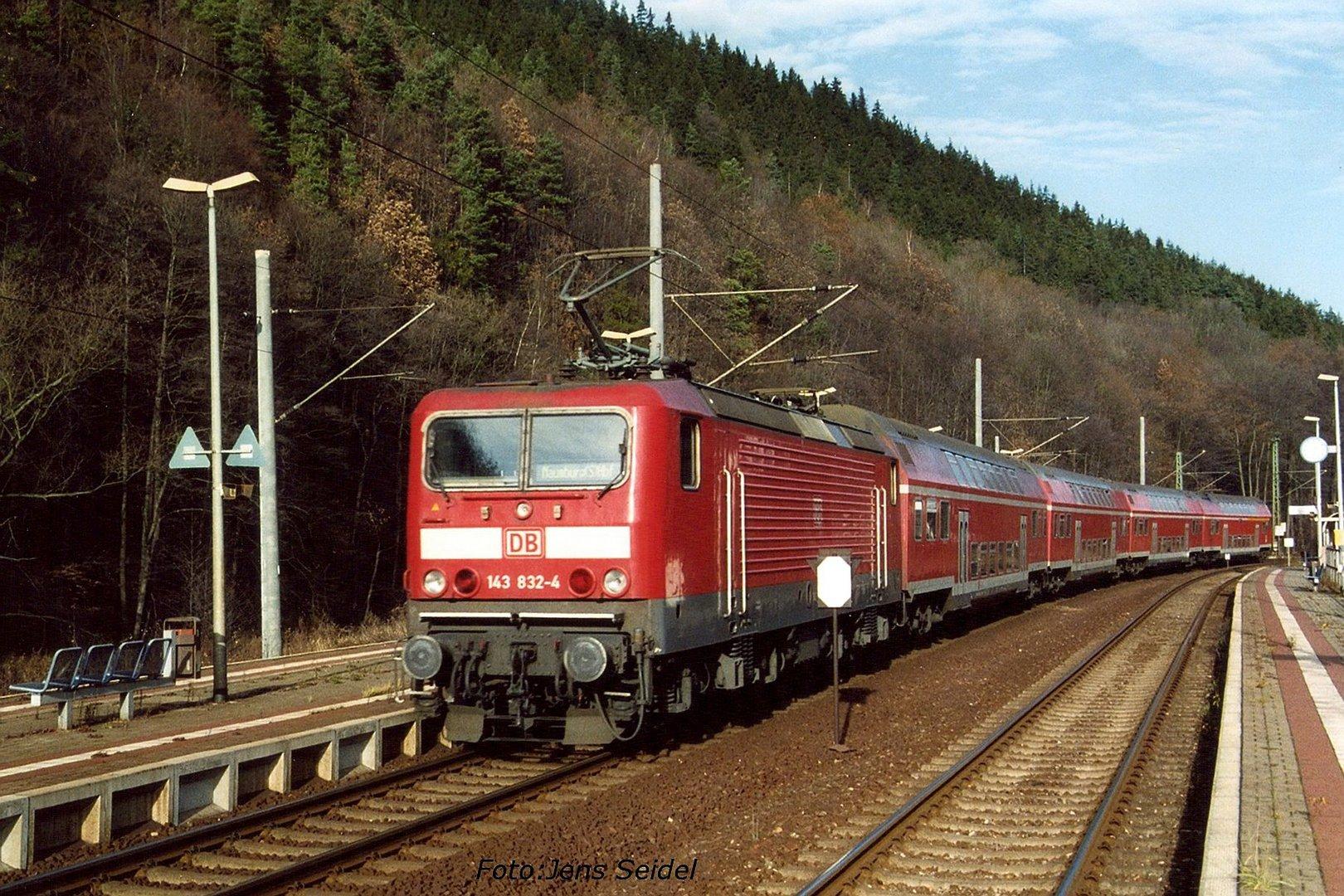 Auf der Frankenwaldbahn
