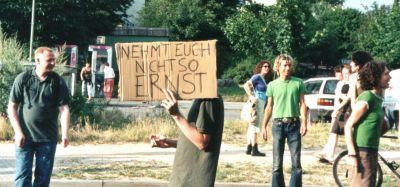 Auf der Fuckparade, Berlin 2002