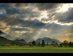 Auf der Heimfahrt von Schloss Neuschwanstein