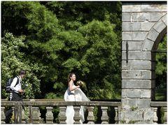 Auf der Hochzeitsbrücke...