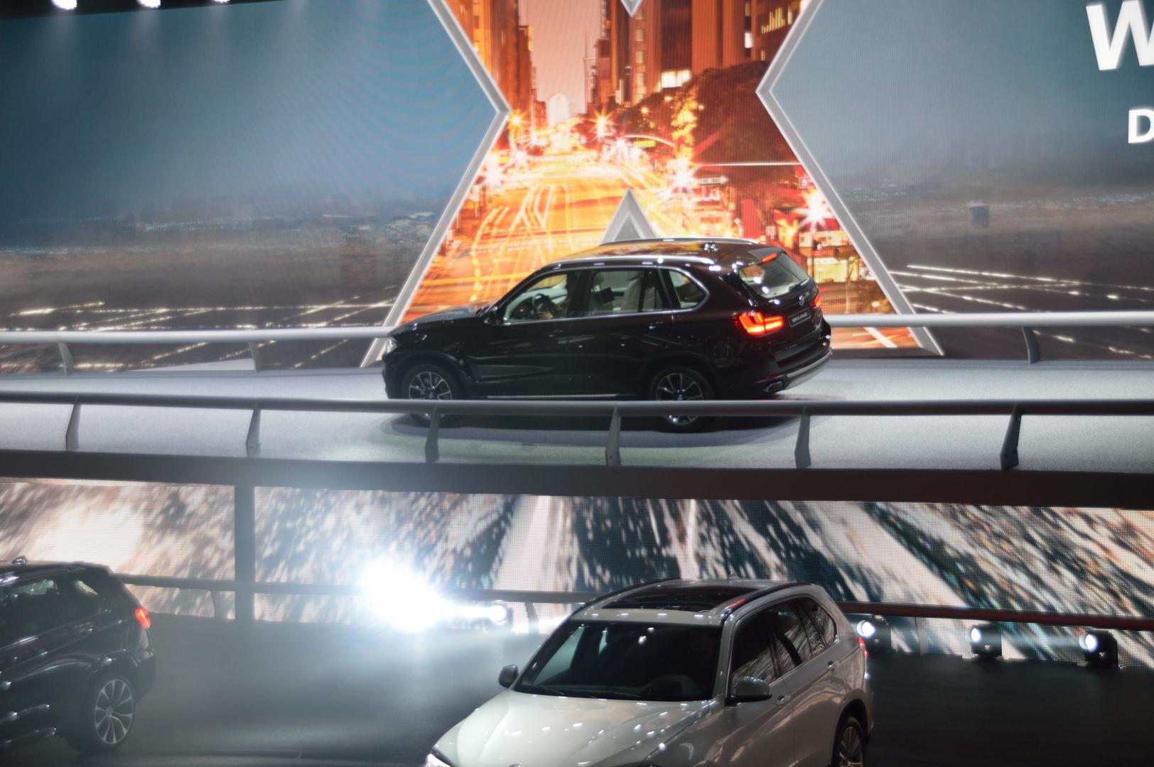 auf der IAA 2013 neuer X5 in der BMW Halle