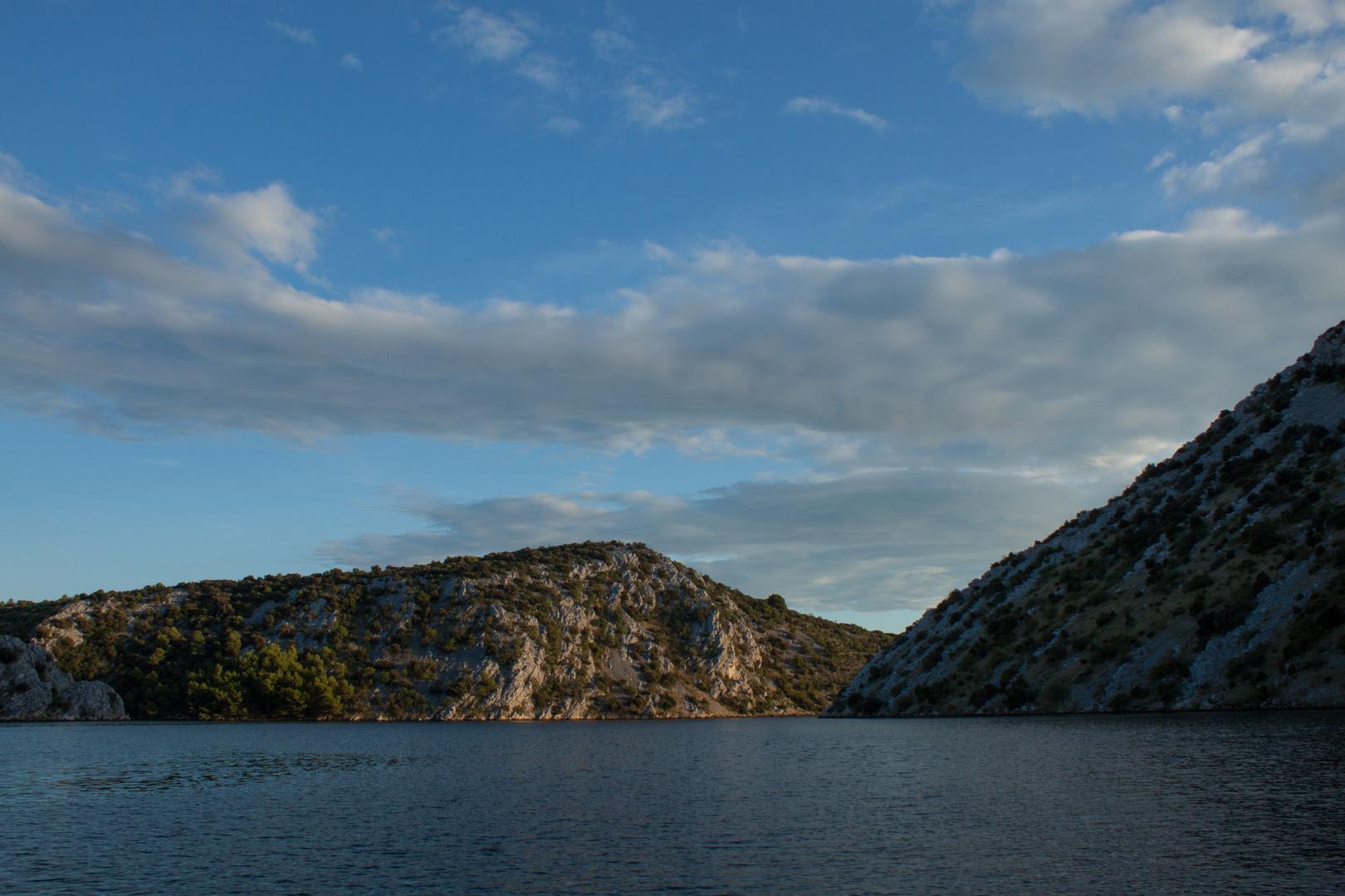 Auf der Krka unterwegs von Skradin nach Sibenik