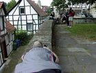 Auf der Mauer, auf der Lauer in Warburg