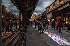 auf der Ponte Vecchio