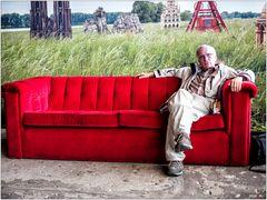 Auf der Roten Couch von Horst Wackerbarth