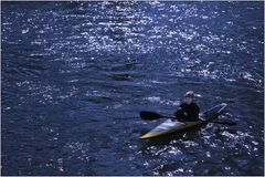 ... auf der schönen, blauen Donau ...