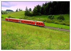 Auf der schwäbsche Eisenbahne
