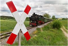 Auf der schwäb'schen Eisenbahn ...