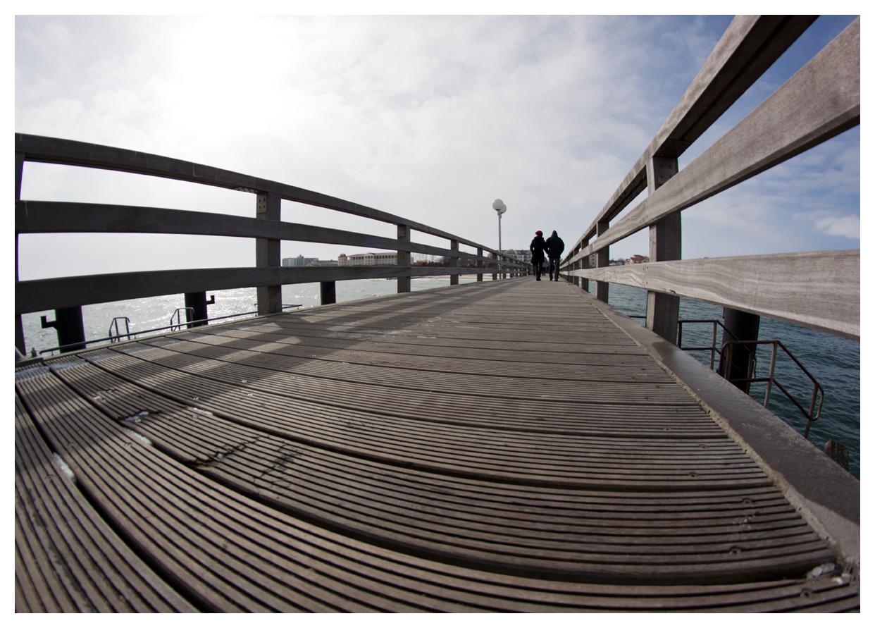 auf der Seebrücke