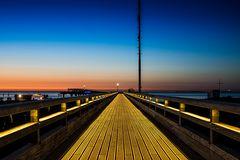 Auf der Seebrücke....