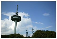 Auf der Spitze des Vulkans - Funkturmskyline