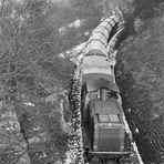 Auf der Steilstrecke zurück ins Rheintal
