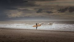 ... auf der Suche nach der perfekten Welle ...