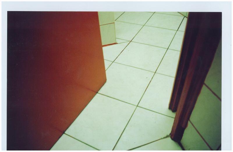 auf der toilette;)