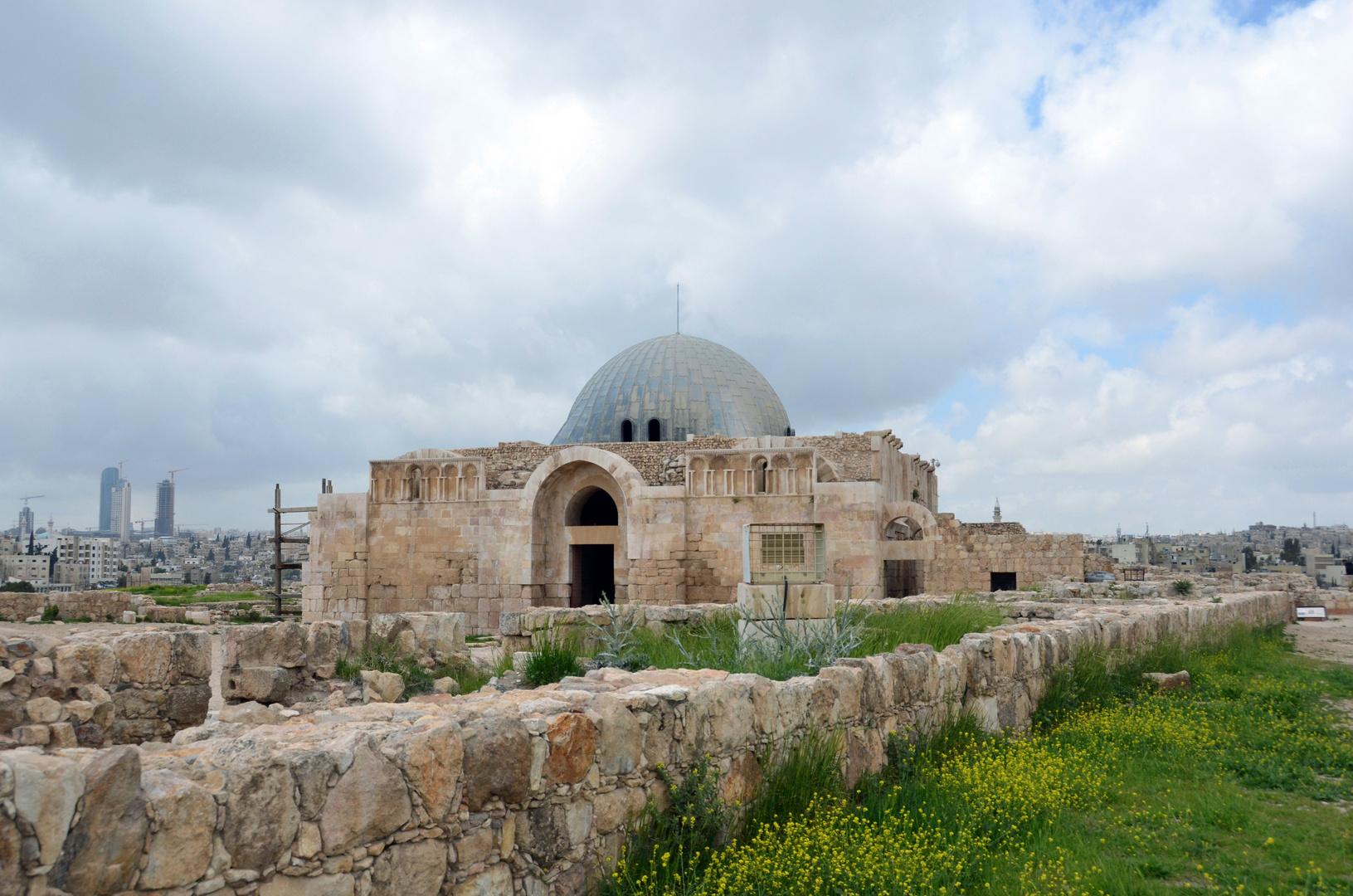 Auf der Zitadelle von Amman
