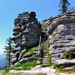 Auf diesen Aussichtspunkt am Dreisesselberg…