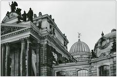 Auf Dresdens Dächern...