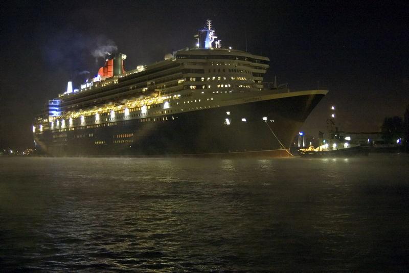 Auf ein Wiedersehen Queen Mary 2