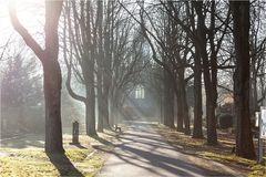 Auf einem Duisburger Friedhof