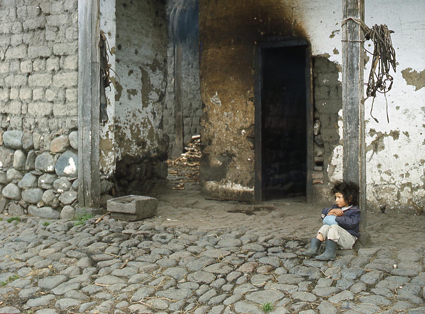 auf einer Hacienda im ecuadorianischen Andenhochland