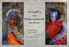 Auf geht's zur Walpurgisnacht im Harz....