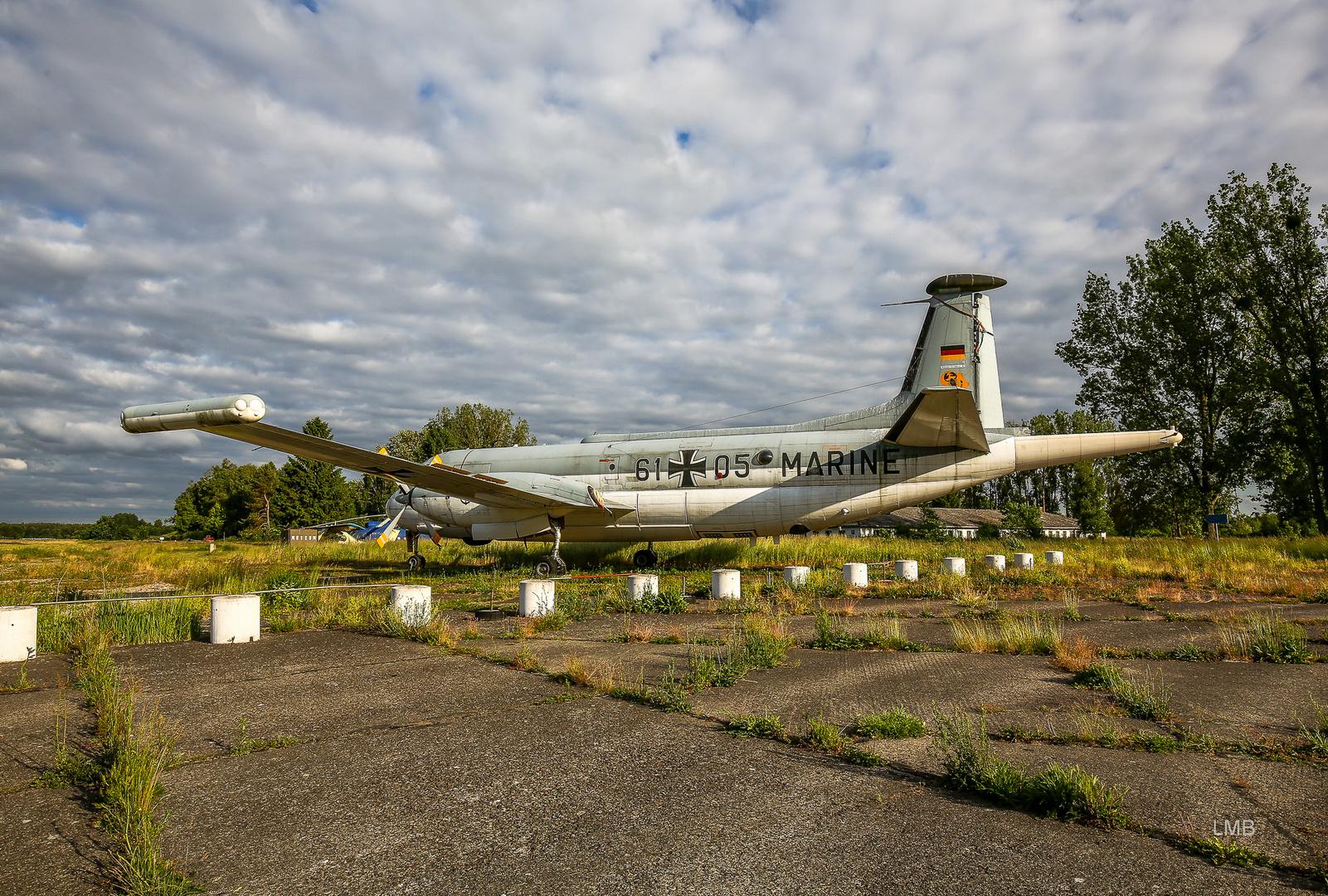 Auf luftfahrthistorischem Boden