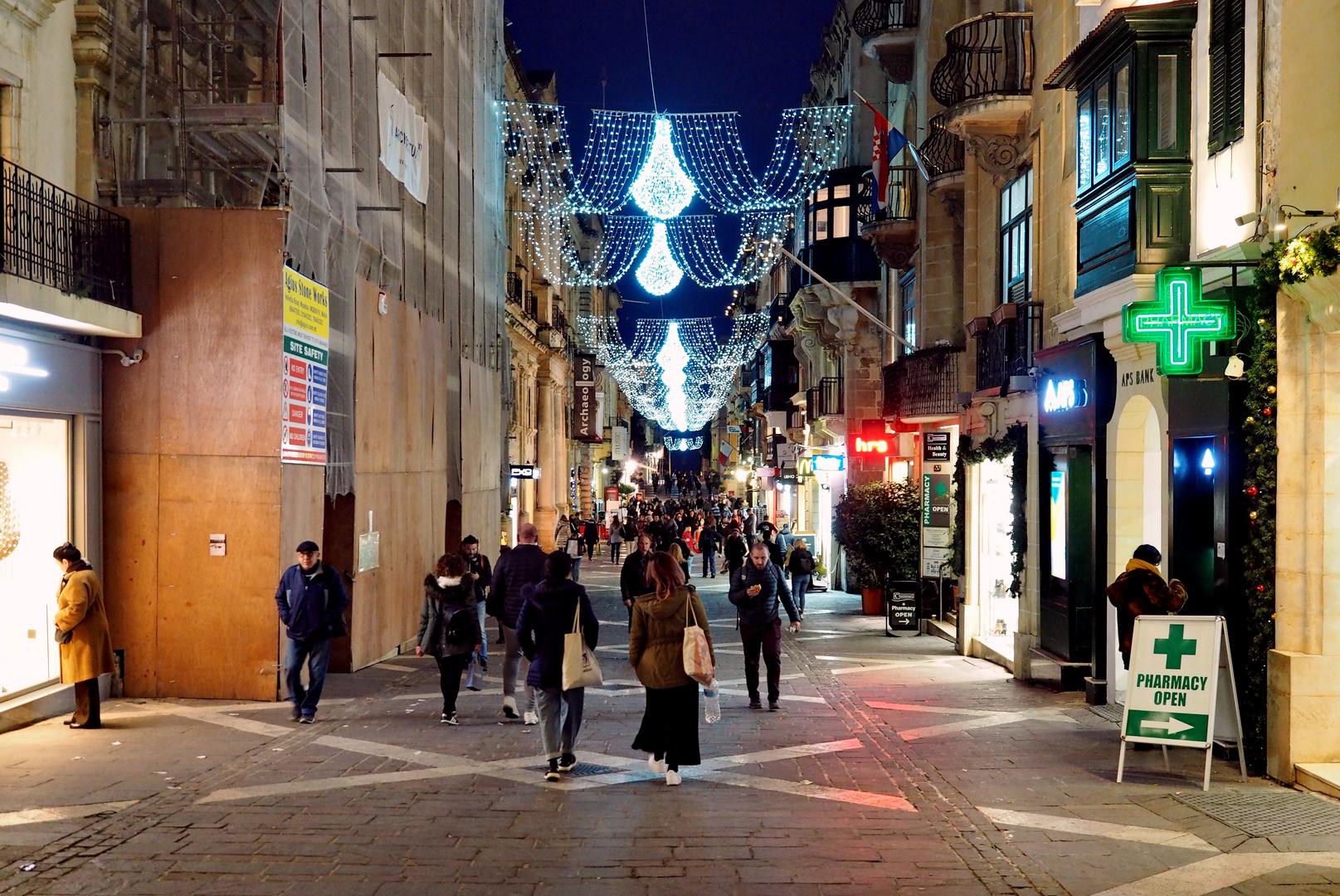 Auf Malta dauert die Weihnachtszeit noch an ...