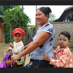 Auf Mandalays Strassen
