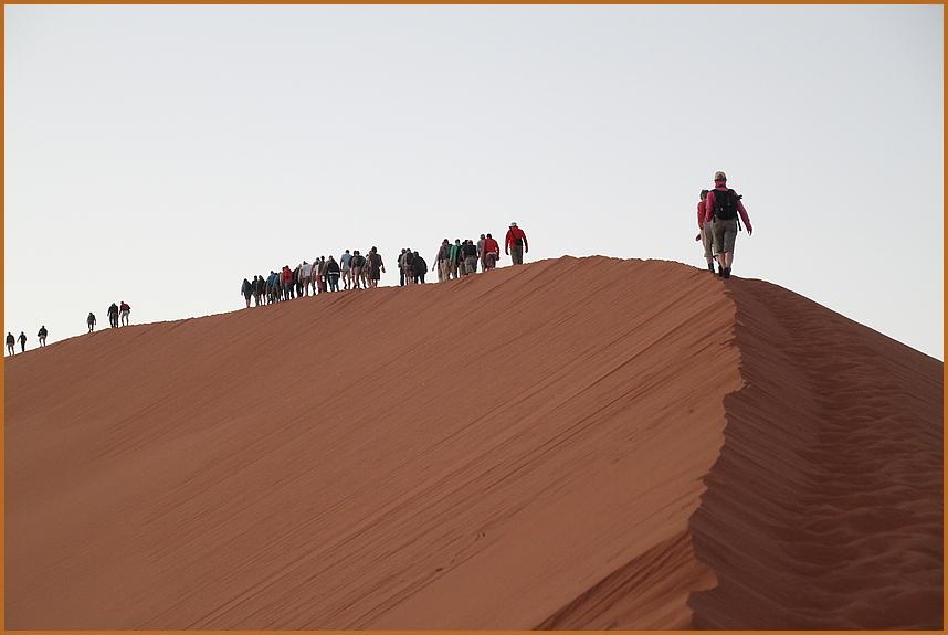 AUF MARSCH Duene 45 Namibia
