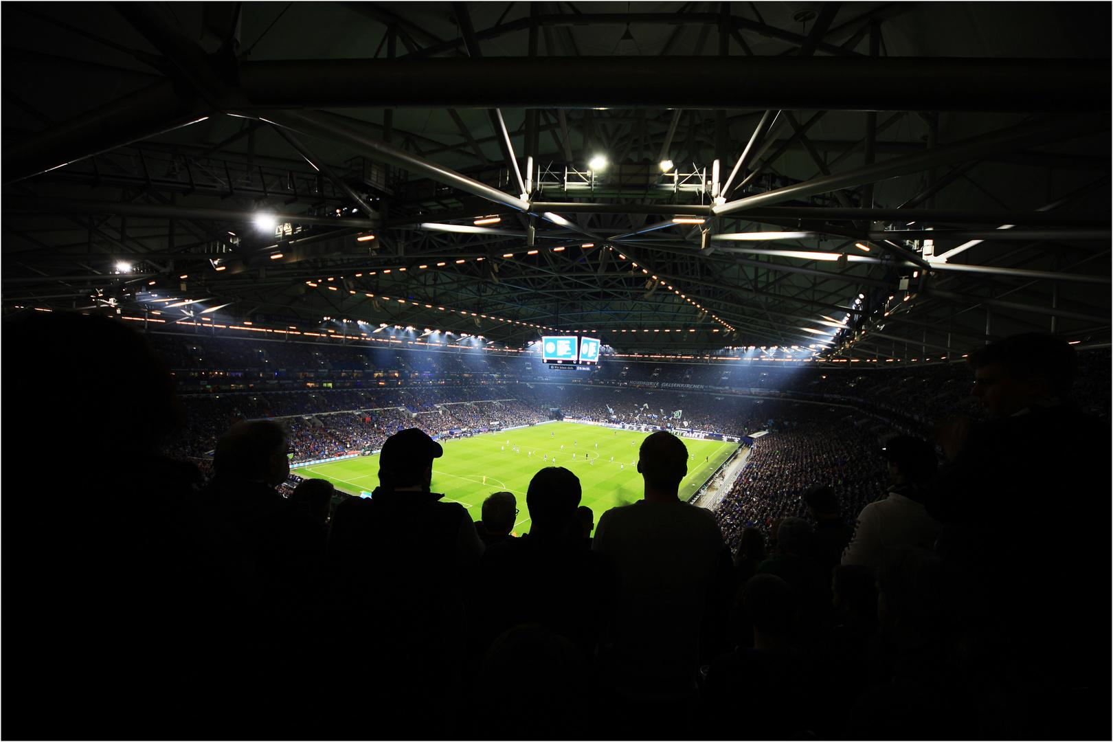 Auf Schalke Steht Auf Wenn Ihr Bremer Seid Foto Bild Sport