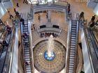 Auf und ab - Einkaufszentrum Limbecker Platz in Essen