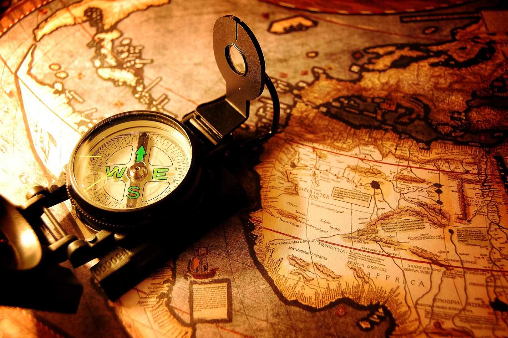Auf Weltreise...