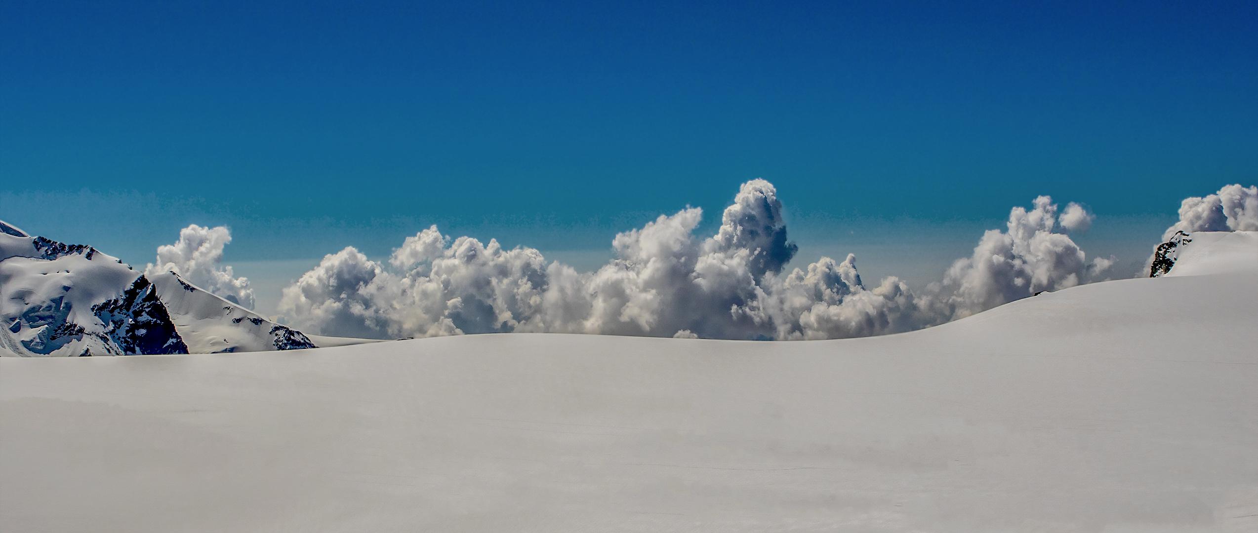 Auf Wolkenhöhe(ca,3600m)