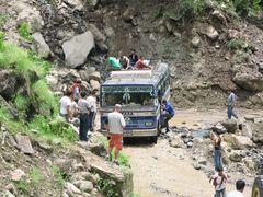 Aufbruch in den Himalaja