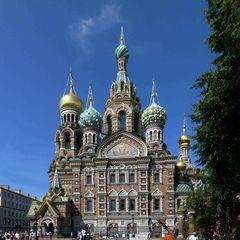 Auferstehungskirche (Blutkirche) in St. Petersburg