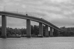 Auffahrt zur Köhlbrandbrücke sw