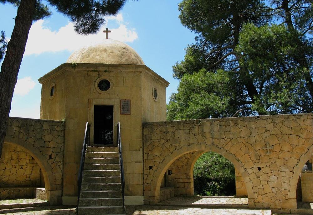 Aufgang Mausoleums