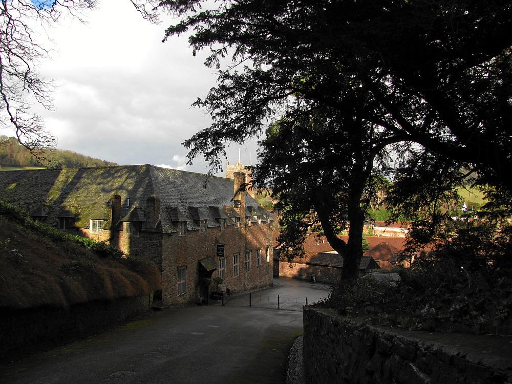 Aufgang zum Dunster Castle