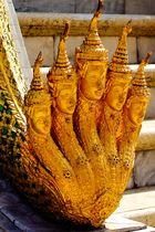 Aufgang zum Smaragd Buddha - Grand Palace BKK