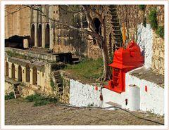 Aufgang zum Taragarh Fort