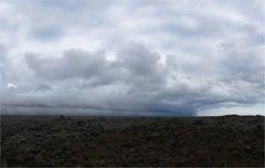 Aufkommender Sturm südlich des Vatnajökull