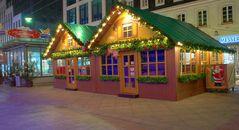Aufnahme bearbeitet mit HDR Weihnachtsmarkt in Saarbücken 2007