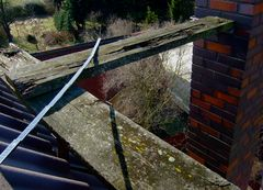 °°° Auf's Dach gestiegen - Oh die Aussichtsplattform hat gelitten °°°