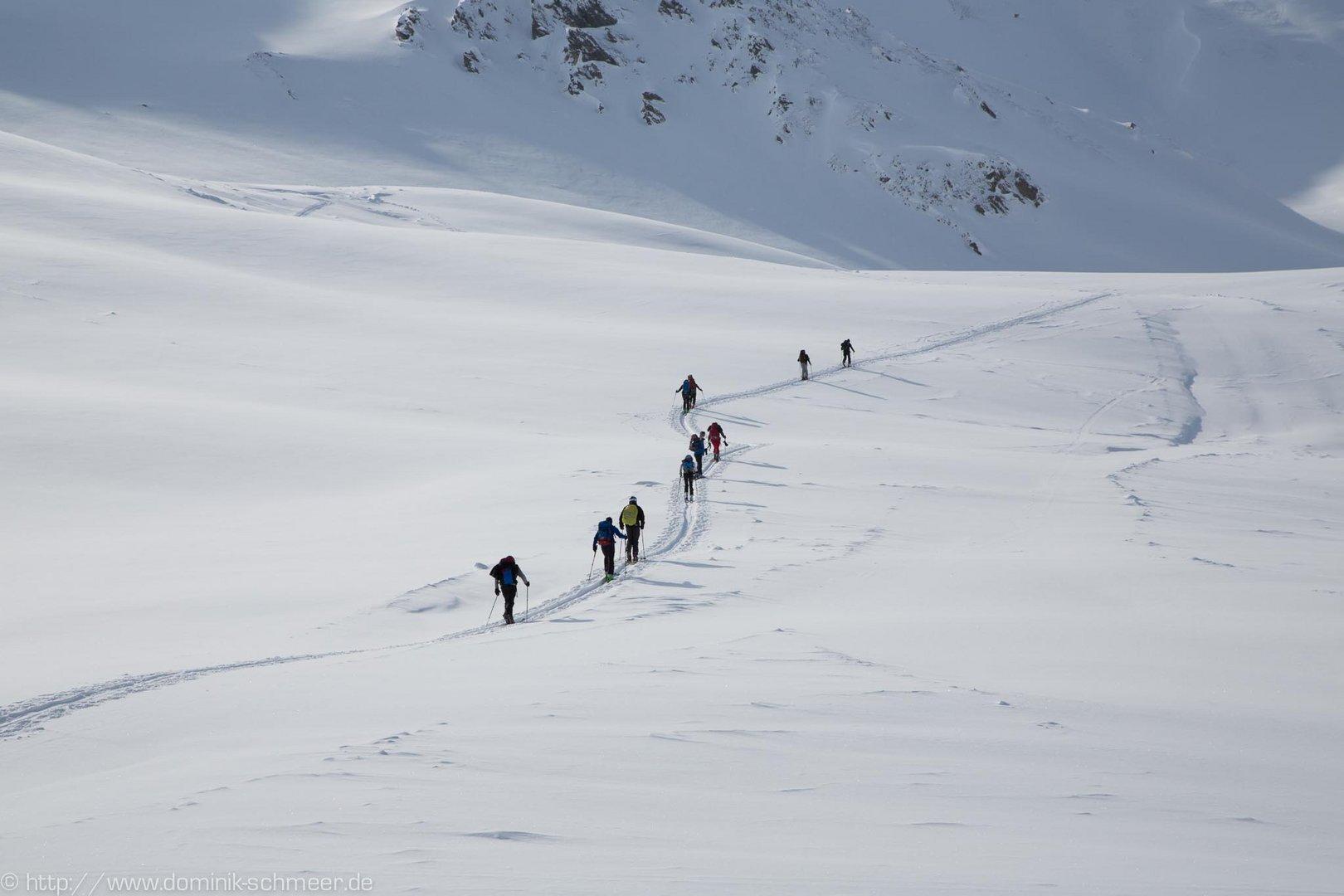 Aufstieg Piz Val Gronda