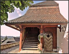 Aufstieg zum Glockenturm, Lauperswil / im Emmental