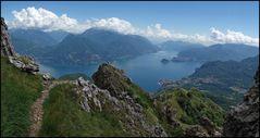 Aufstieg zum Monte Grona