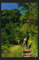 Aufstieg zum Mt. Zwekabin