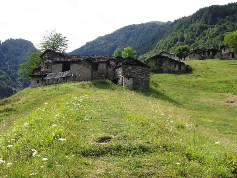 Aufstieg zur Bosio-Hütte