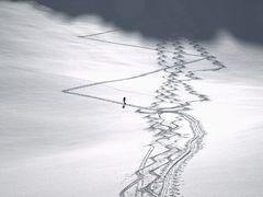 Aufstiegsmühen vs Abfahrtsfreuden