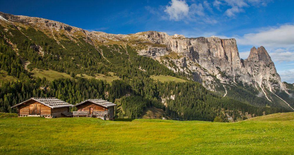 Aufstiegsweg Schlern